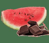 Watermelon with Chocolate Seeds